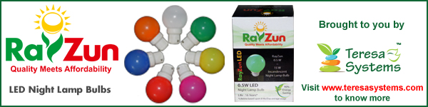RayZun® Led Lights - brought to you by Teresa Systems™